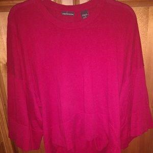 Moda International/Victoria's Secret Red Sweater
